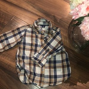Baby Gap Flannel 12-18 M